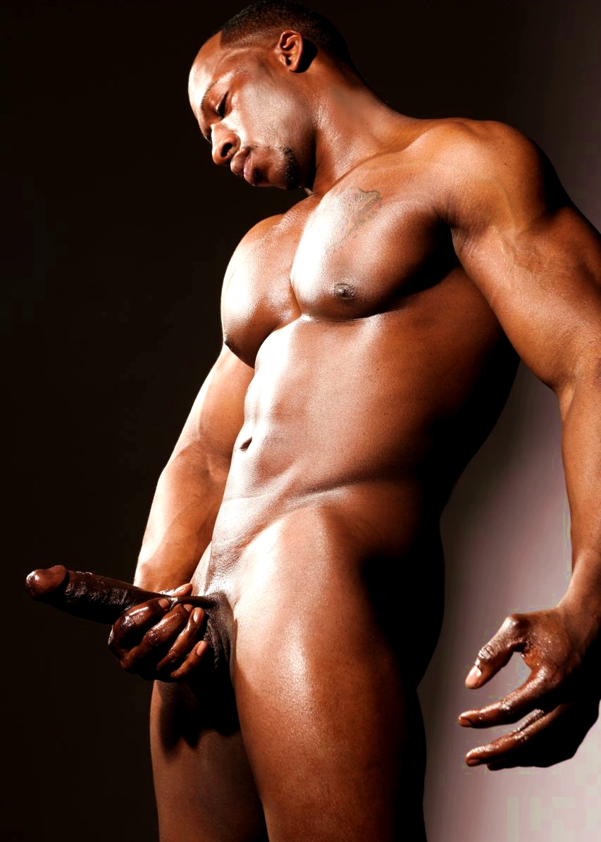 Adonis Big Black Cock
