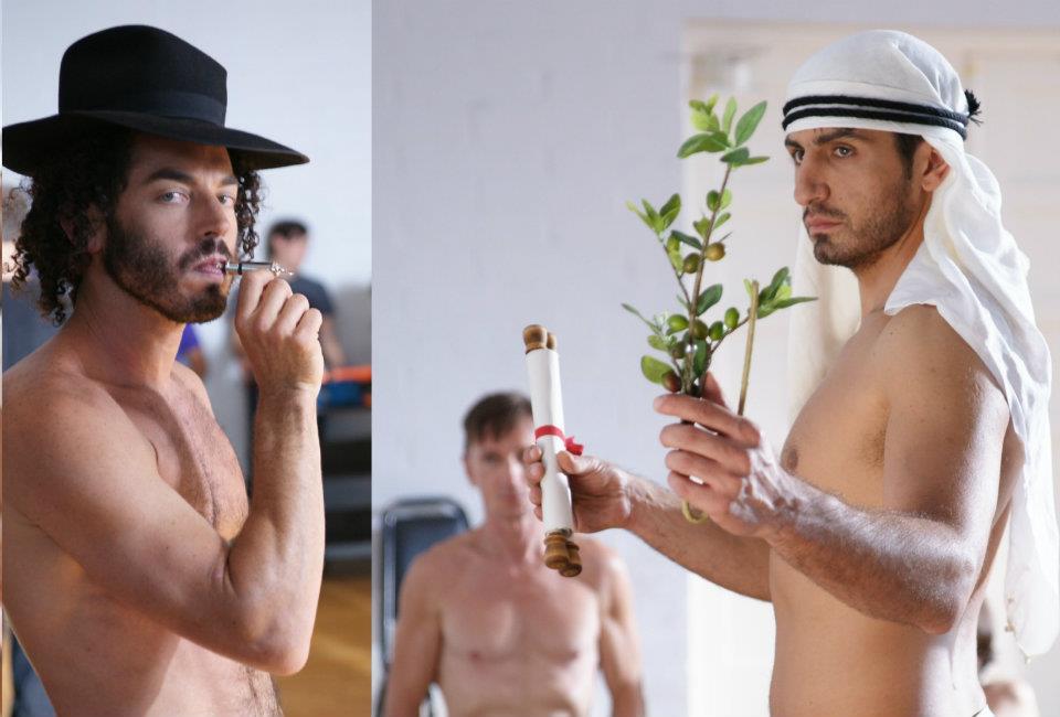 nude jewish guys photos