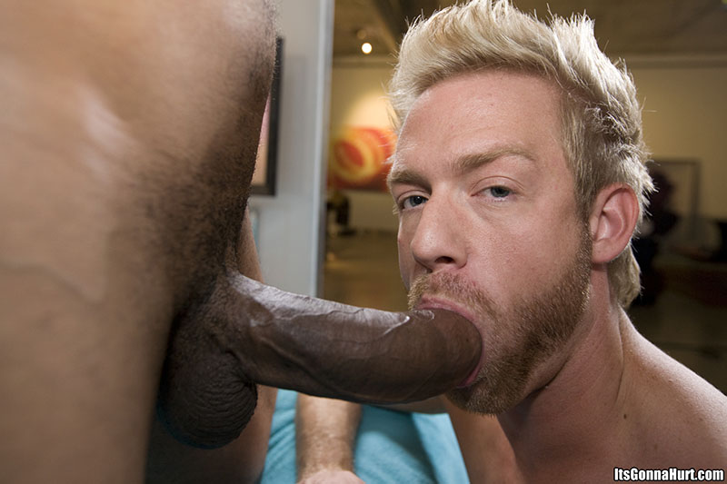 Big black cock gay sex