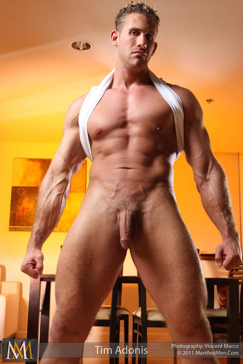 Big Muscular Naked Men Bodybuilder Manifestmen