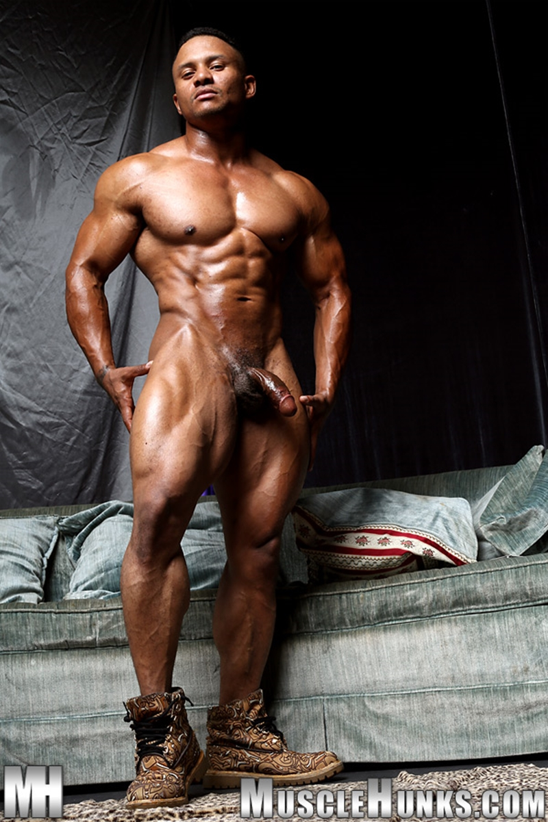 Big cock muscle men naked consider, that