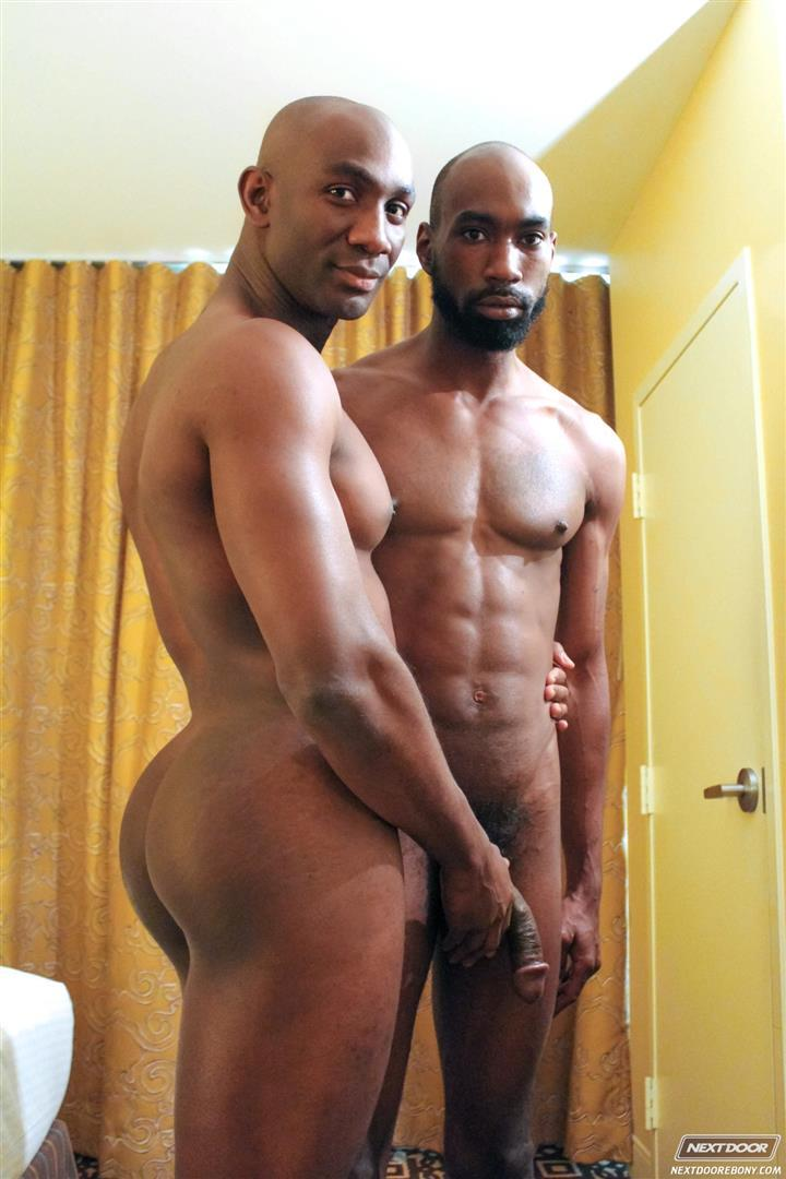 Gay black guys making love