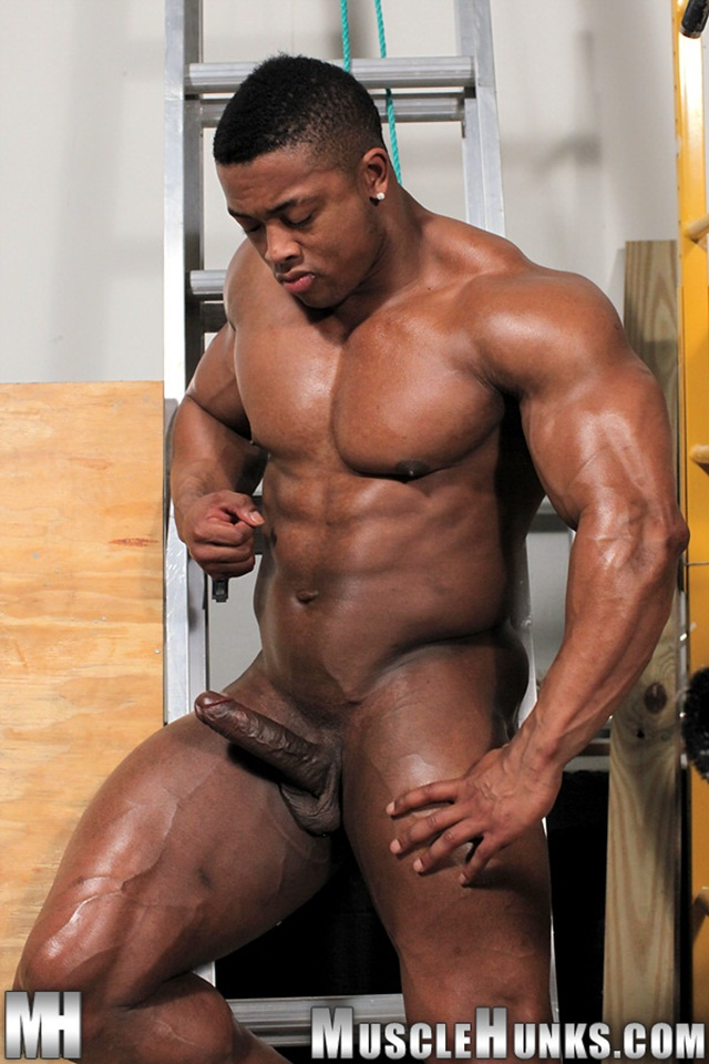 Muscle black gay videos