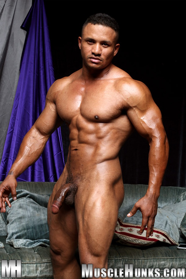 black hunk muscle ripped black men dick naked media