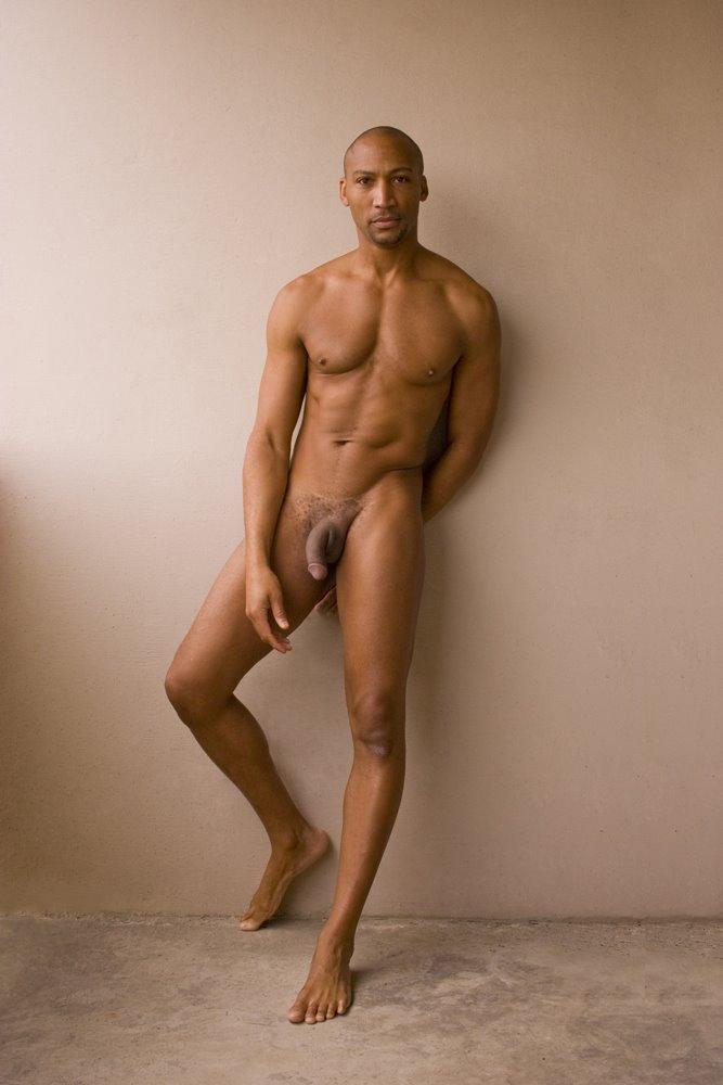 Black men in nude
