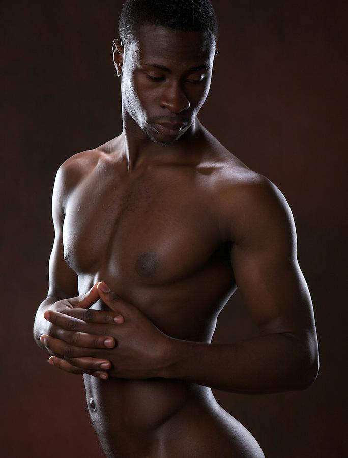 Final, Naked black men models