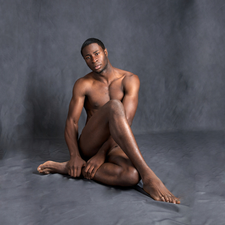Are Black male models naked