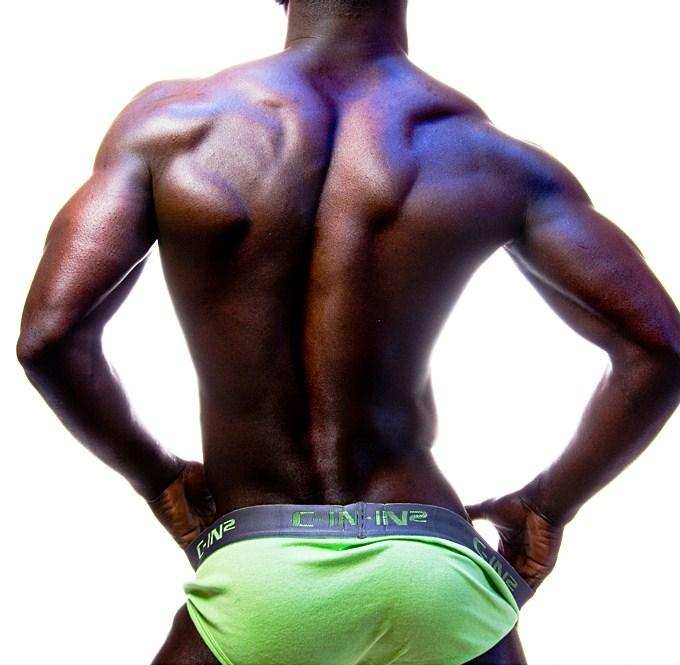 Apologise, that black hunks with big bulges