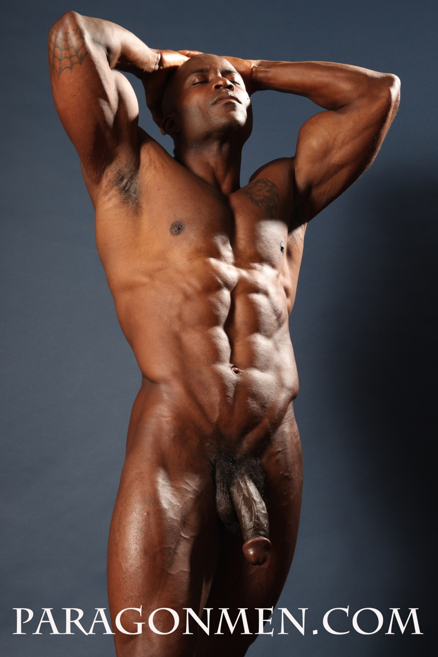 buff naked black men
