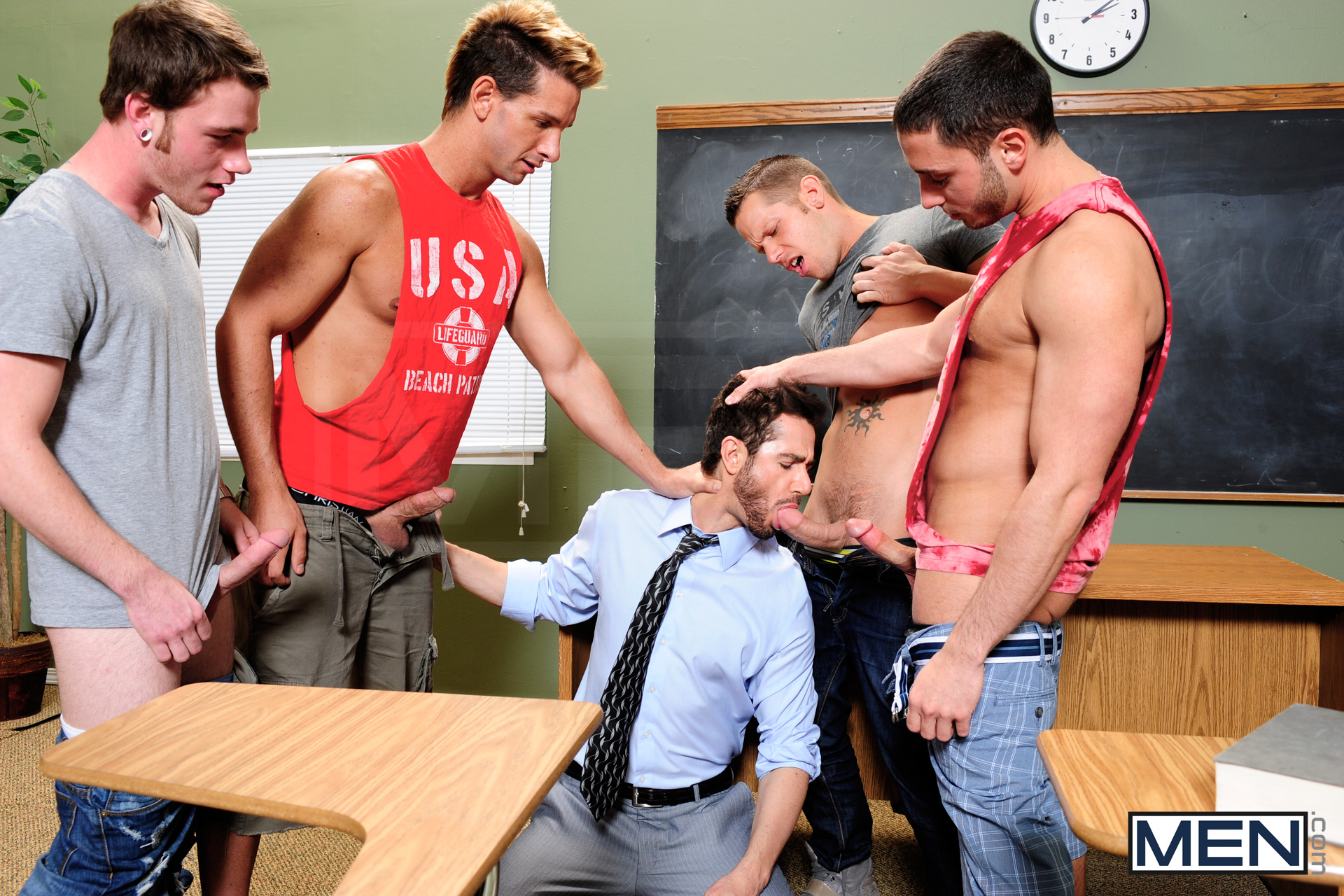 Секс юноши с учитель