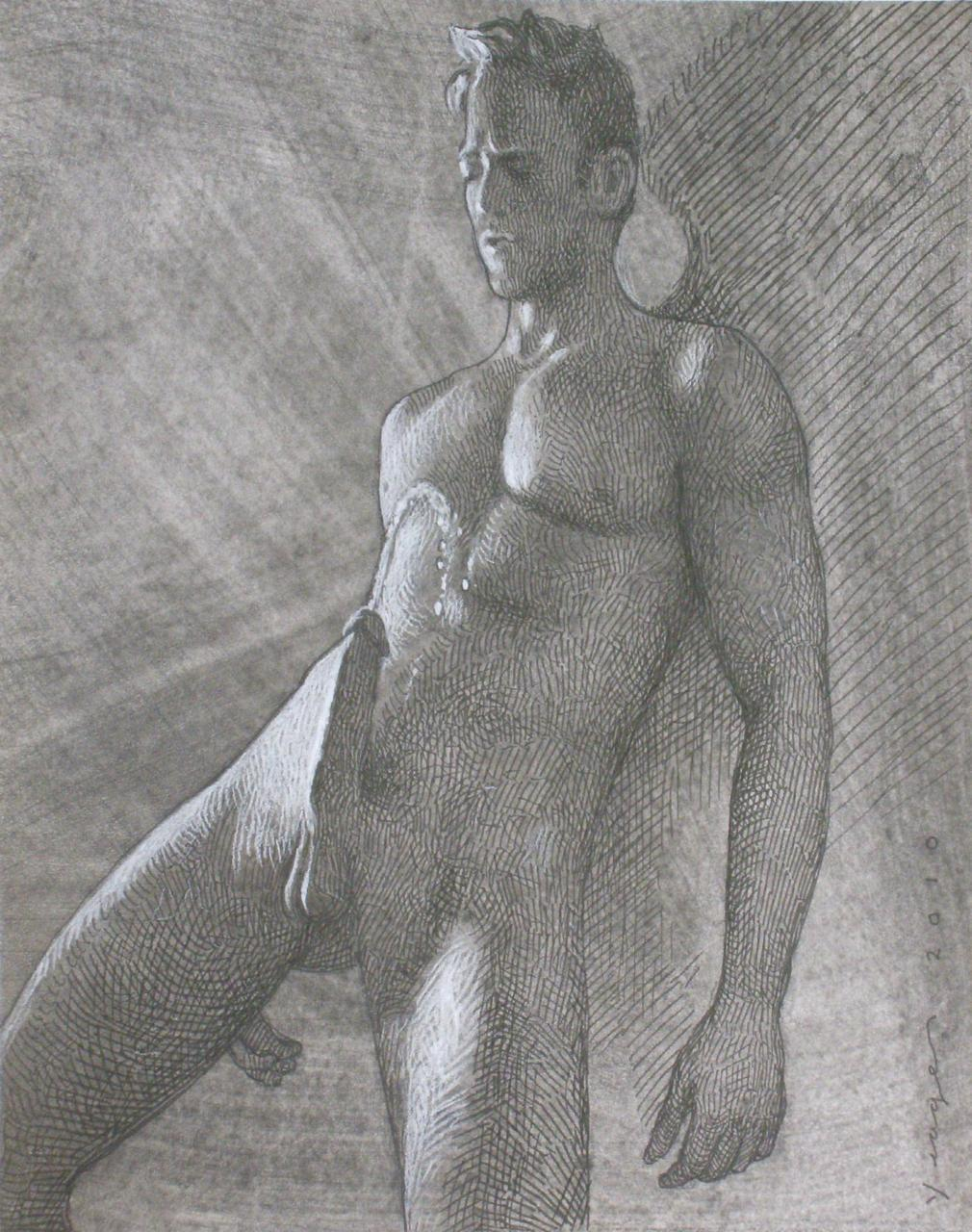 Naked cocks pencil sketches porn picture