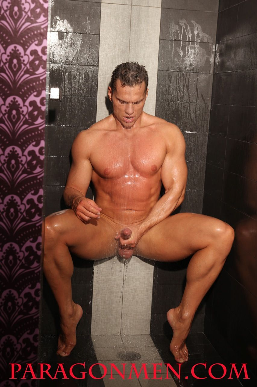 russian muscle man Naked
