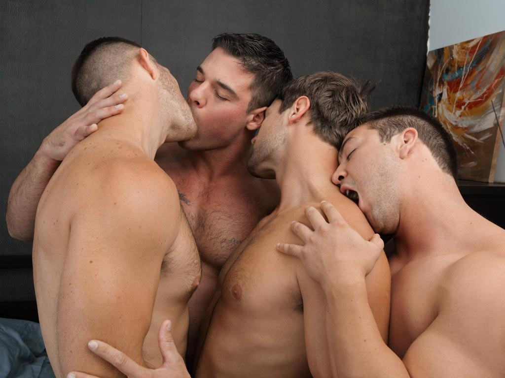gay men split but have house
