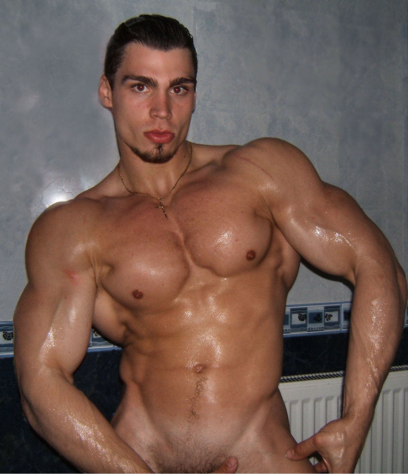 Bare naked muscle