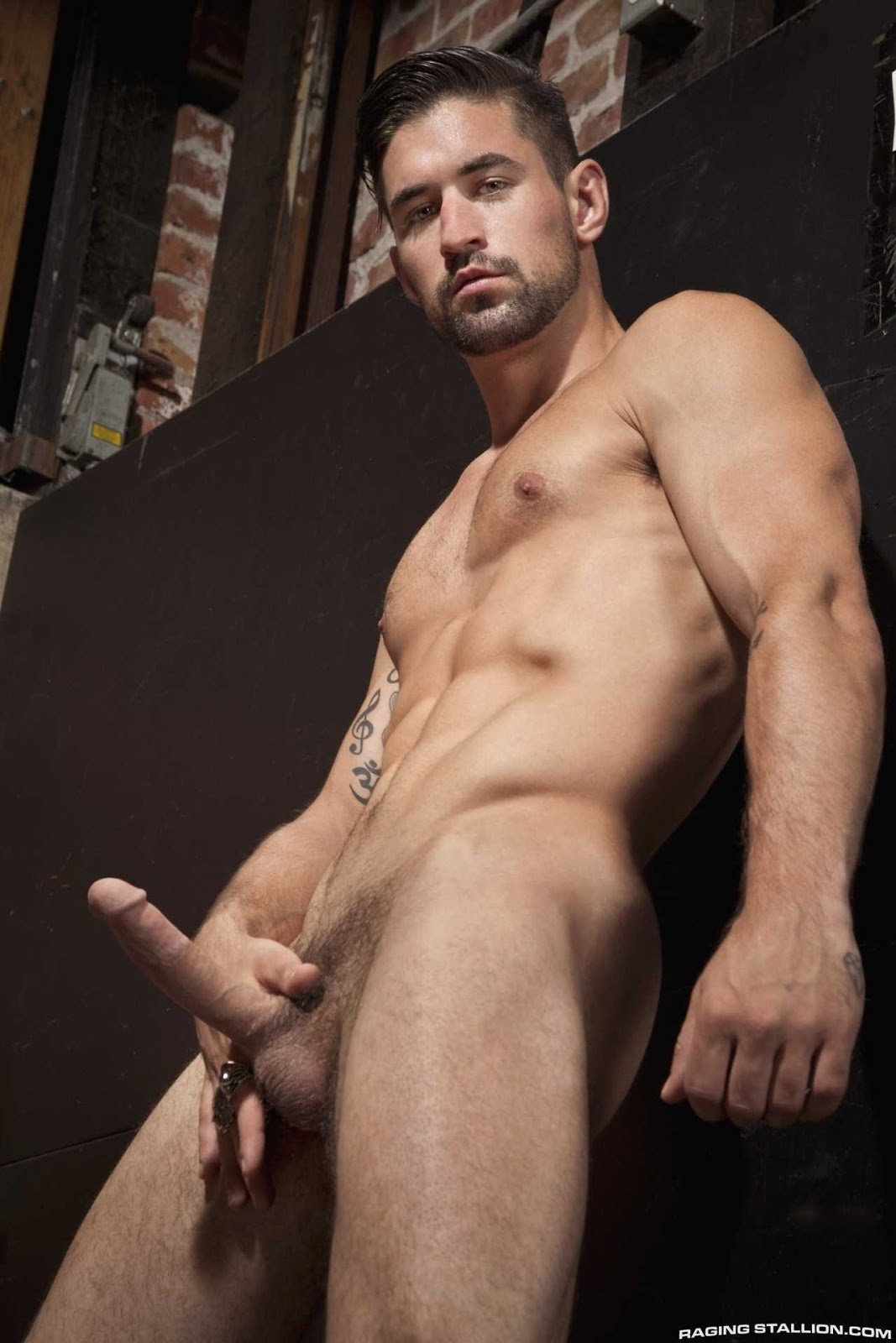 Naked gallery male model