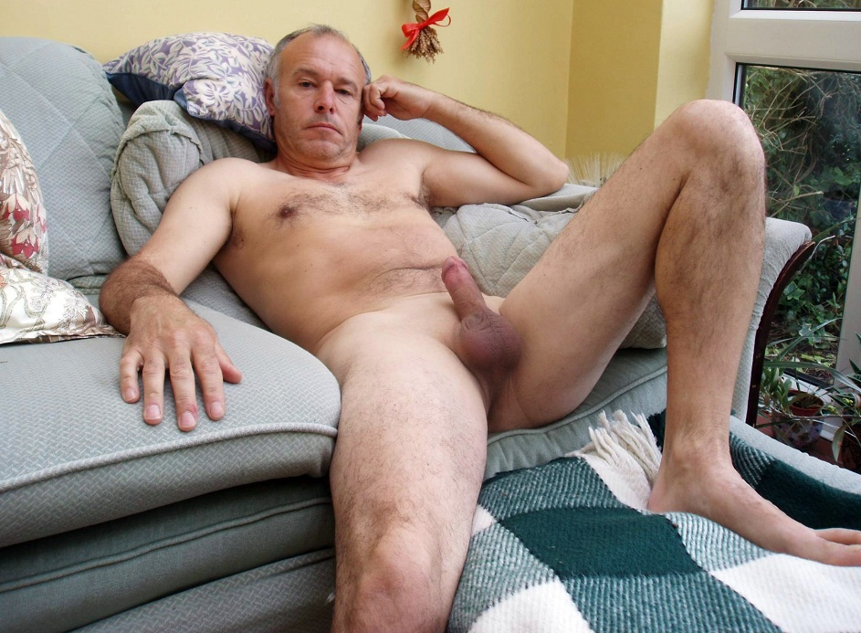 Black amateur man naked