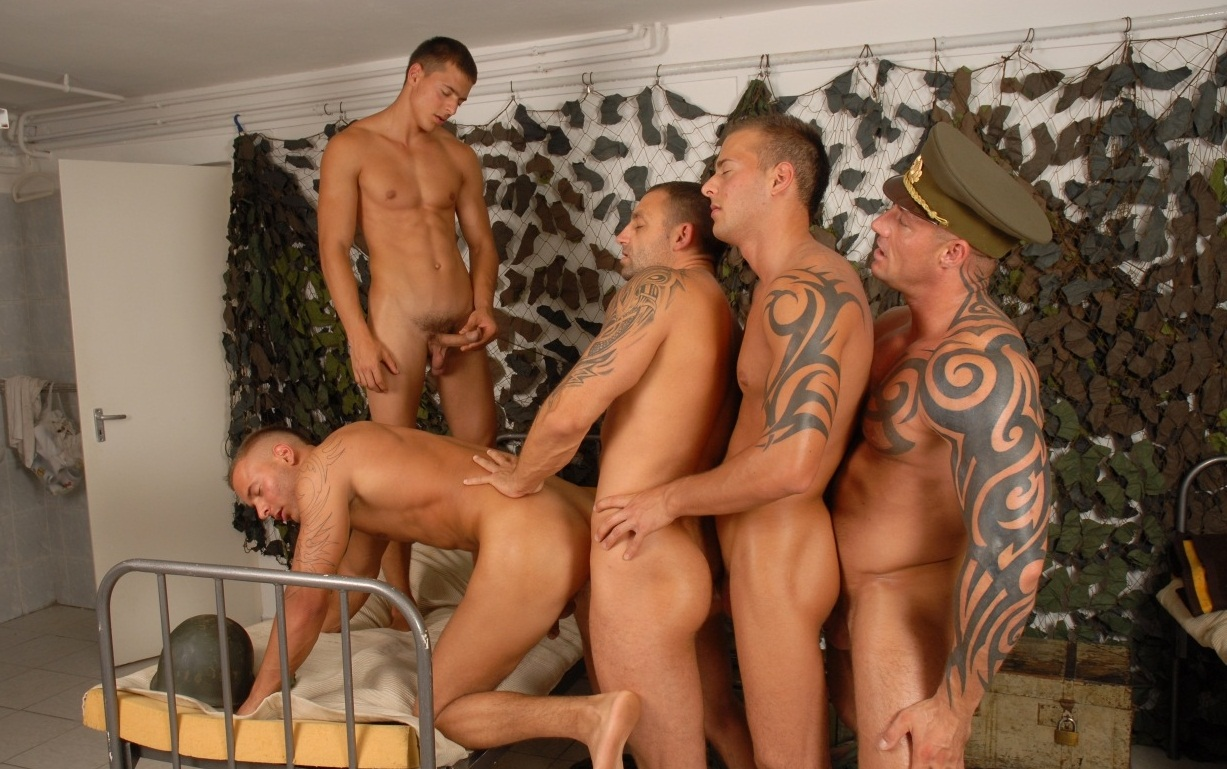 from Oliver gay army gallerys
