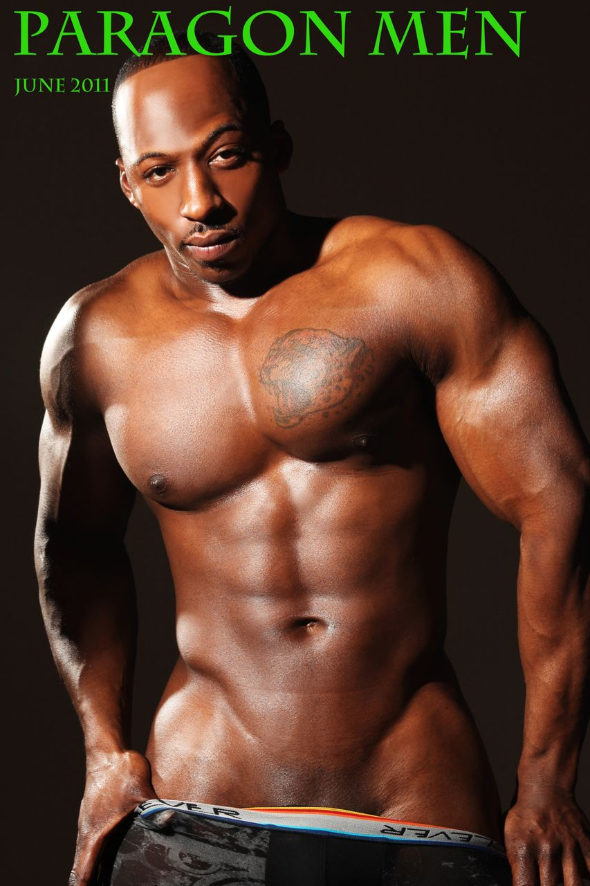 Muscle nude male strippers black