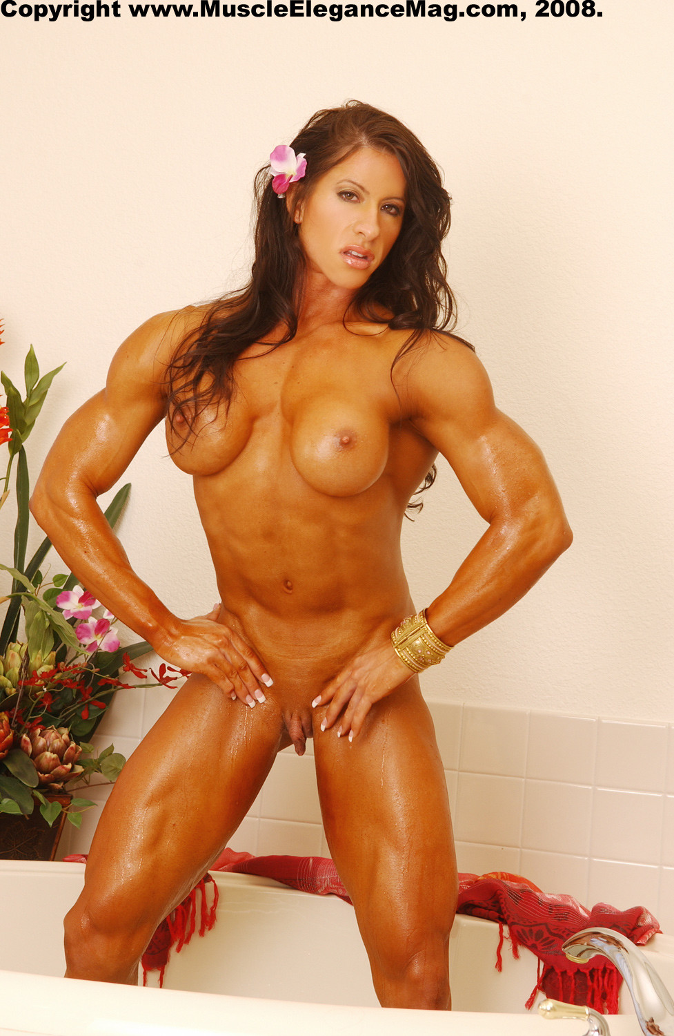 Extreme female bodybuilder most
