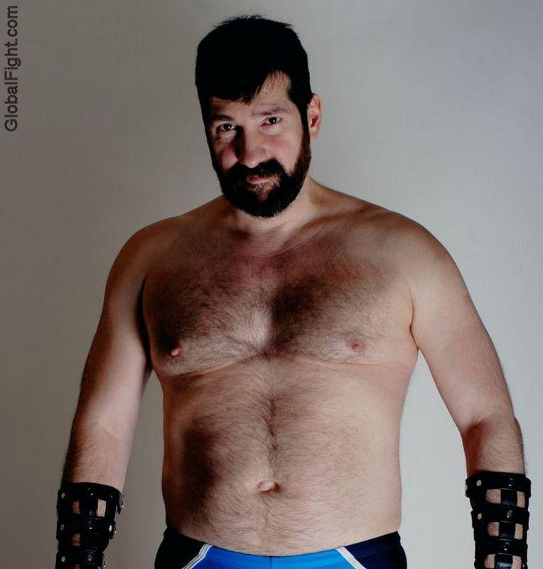 Master bear gay men fuck first time