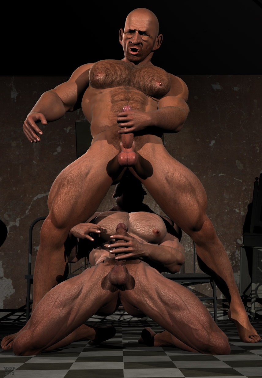 Conrad recommend best of muscle men gay 3d