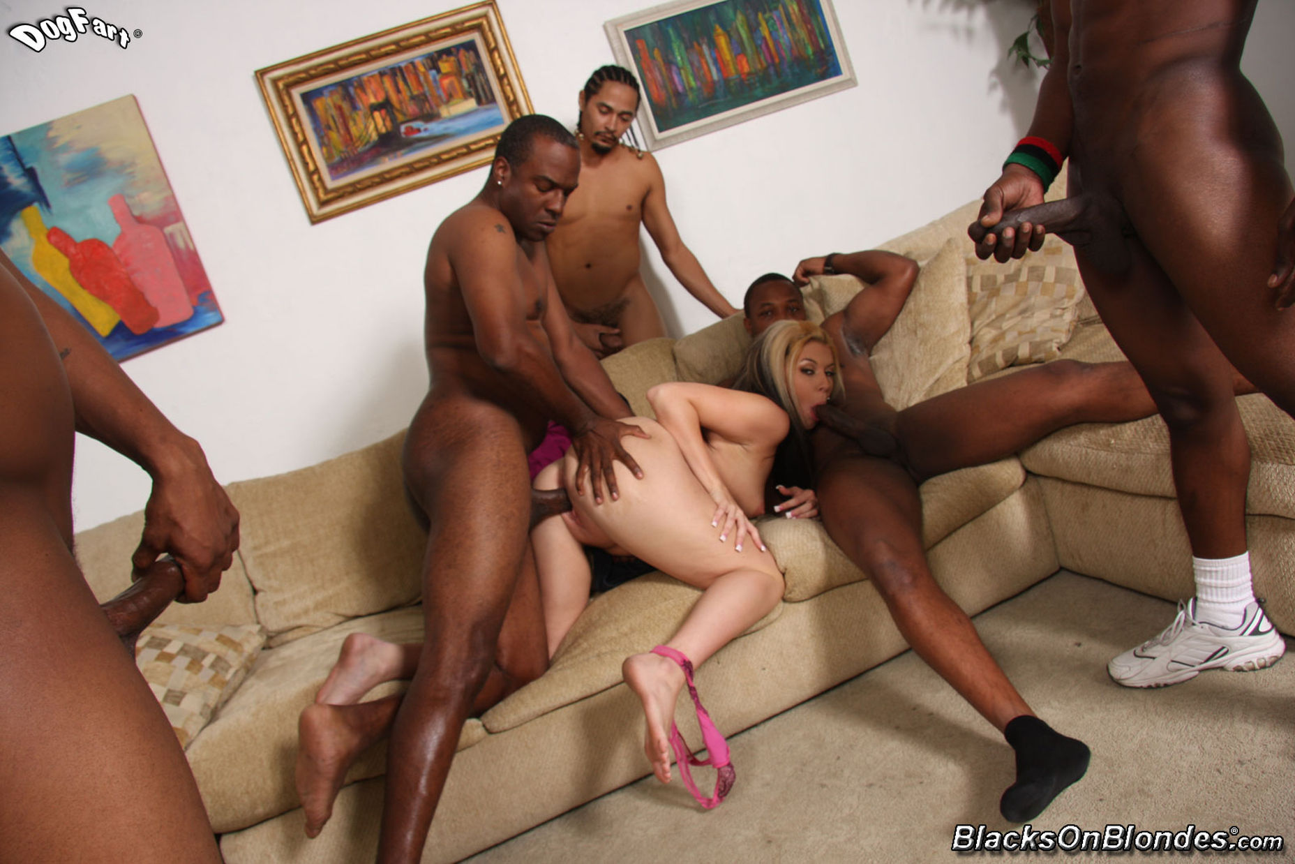 gang bang gay video