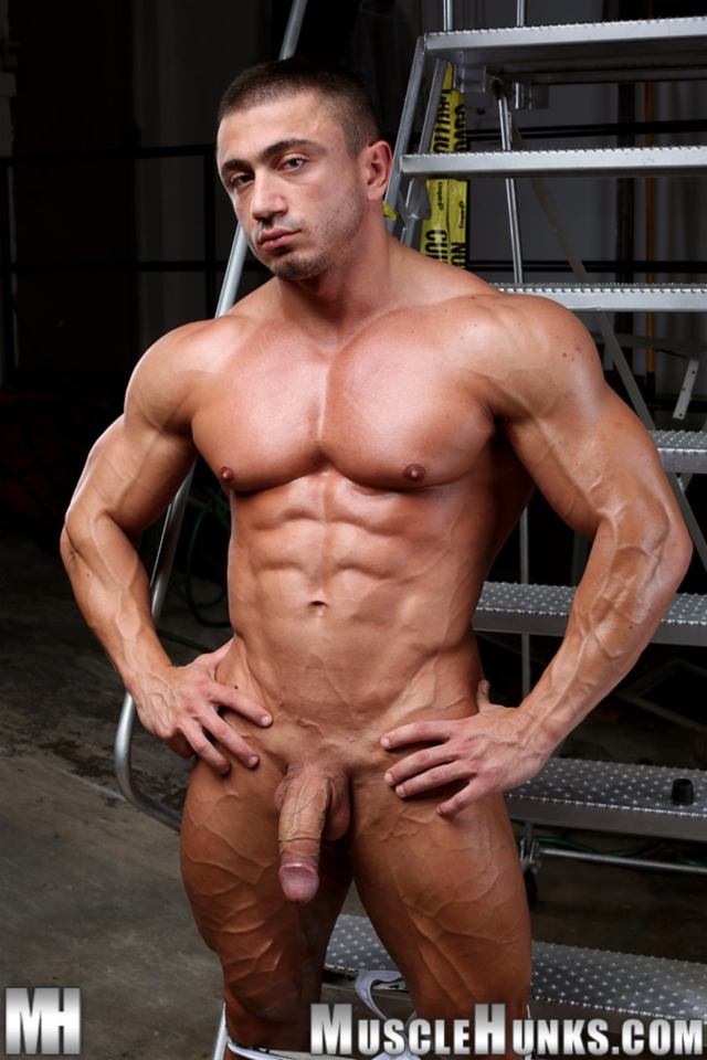 naked mens muscled blacked
