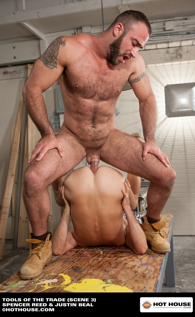 hairy hunk gay porn hairy muscle hunk fucks ripped cock hard naked his justin photo beal spencer reed strokes bodybuilder strips torrent hothouse