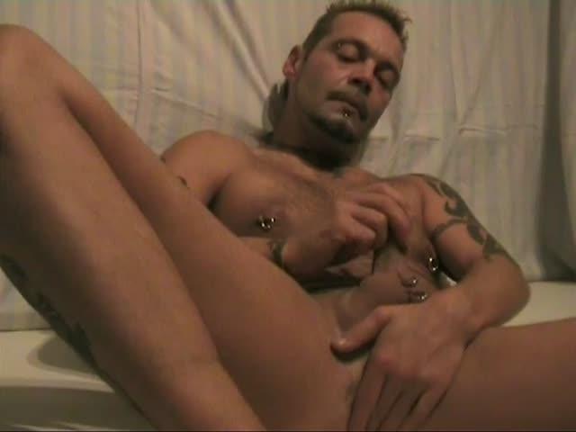 horny nude man