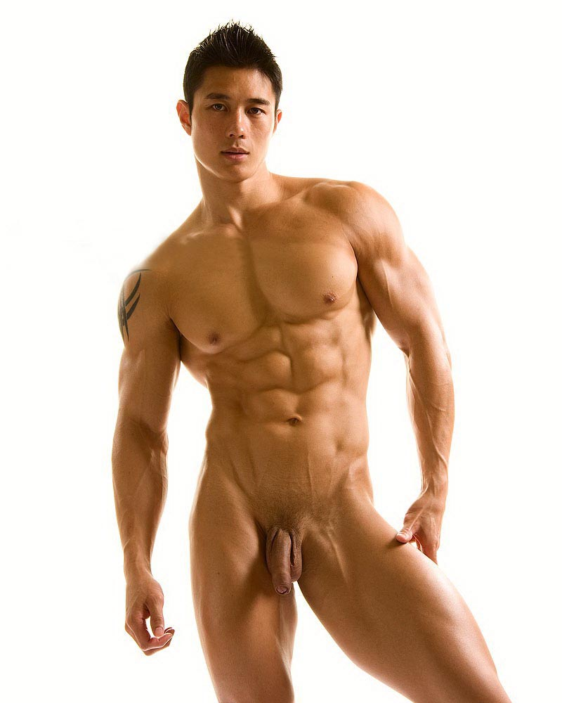Hot sexy naked gay man