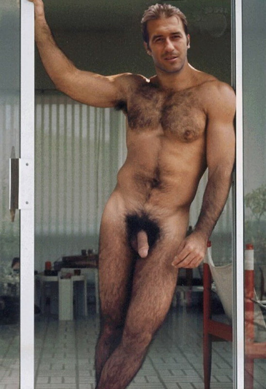 Nude hairy guys