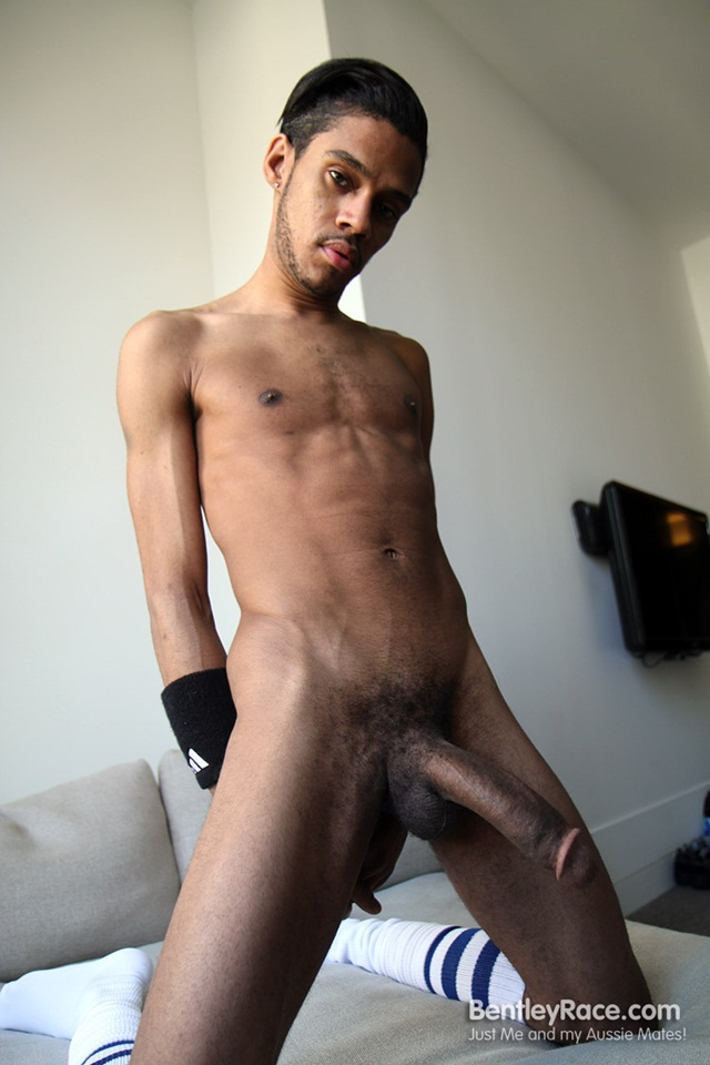 Big young black dick