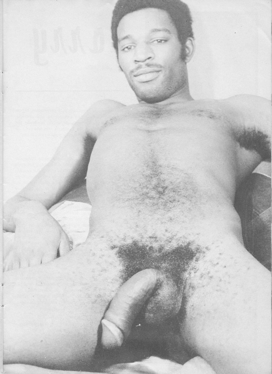 Vintage Gay Black Men Nude