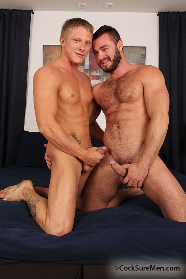from Wyatt hairy gay blonde hunks