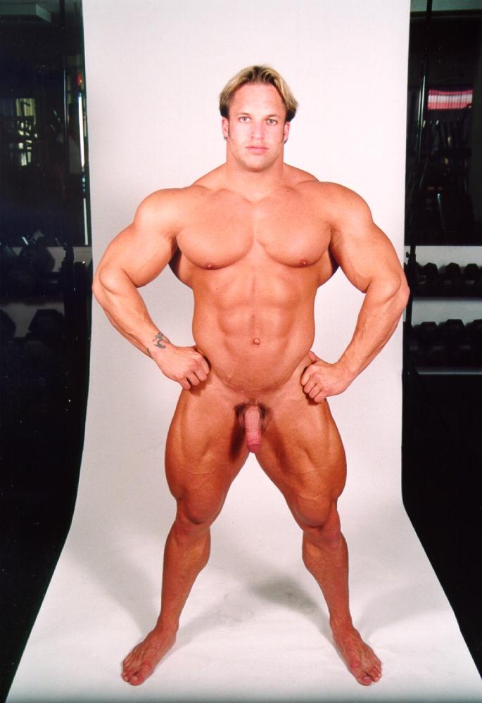 Building sexy male body