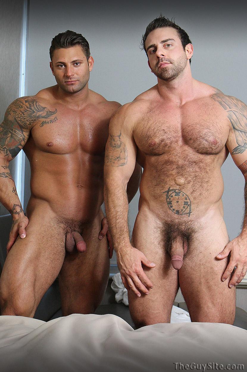 Nackte Bodybuilder