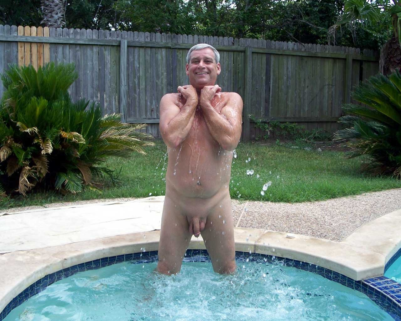 Old gay outdoor