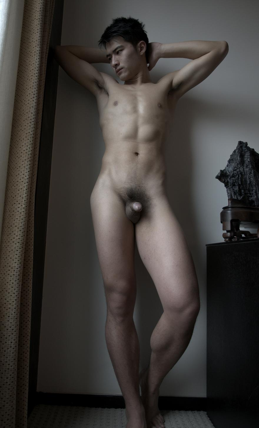 young male models nude