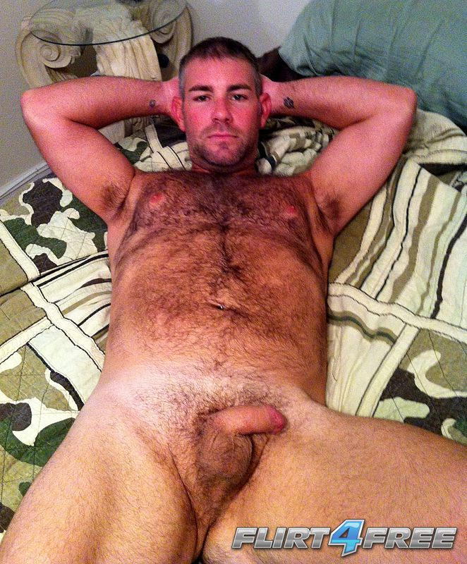 Men beautiful hairy naked