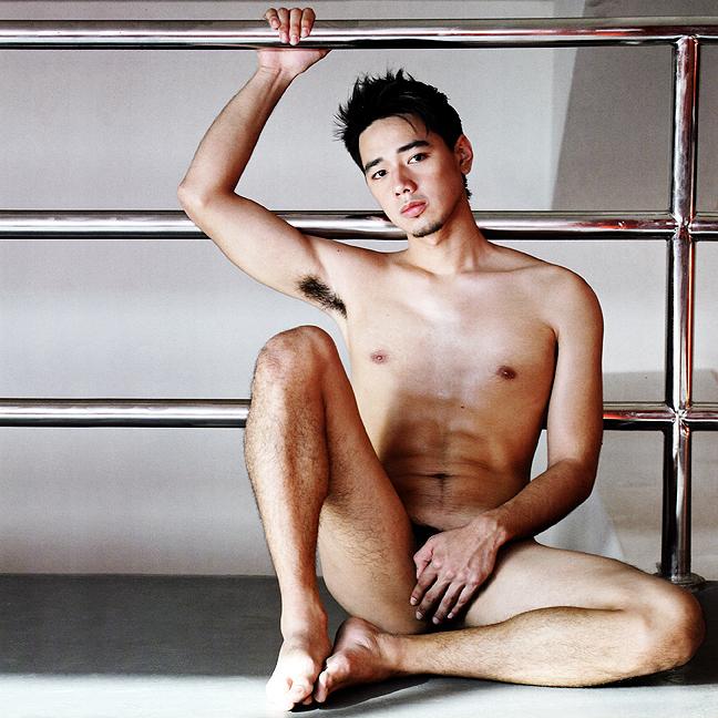 Asian Men In Full Nudity