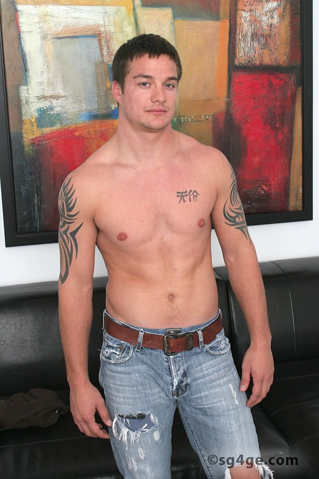 straight men jack off muscle hunk off cock his gay guys straight jack tattooed eyes west jacks material franky