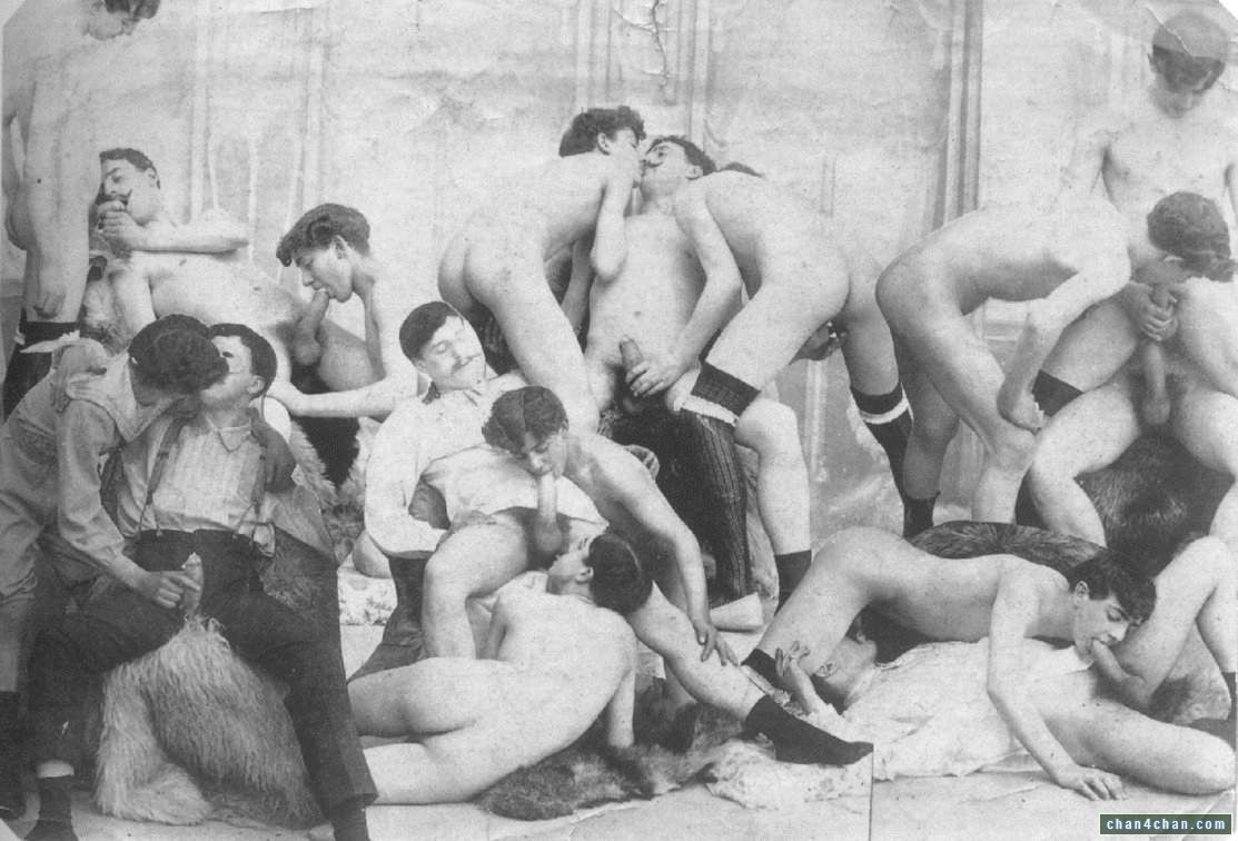 Vintage Gay Sex Gay Orgy Vintage Let Sunday Nsfw Erotica Smut Eekh Commence