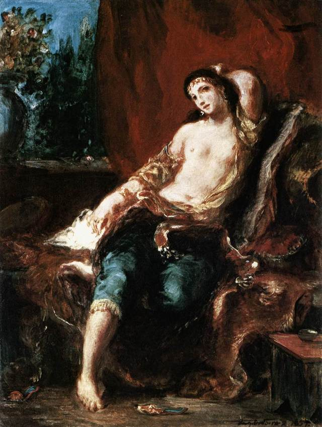 19th century gay porn nude art photography wikipedia commons eugene delacroix odalisque wga