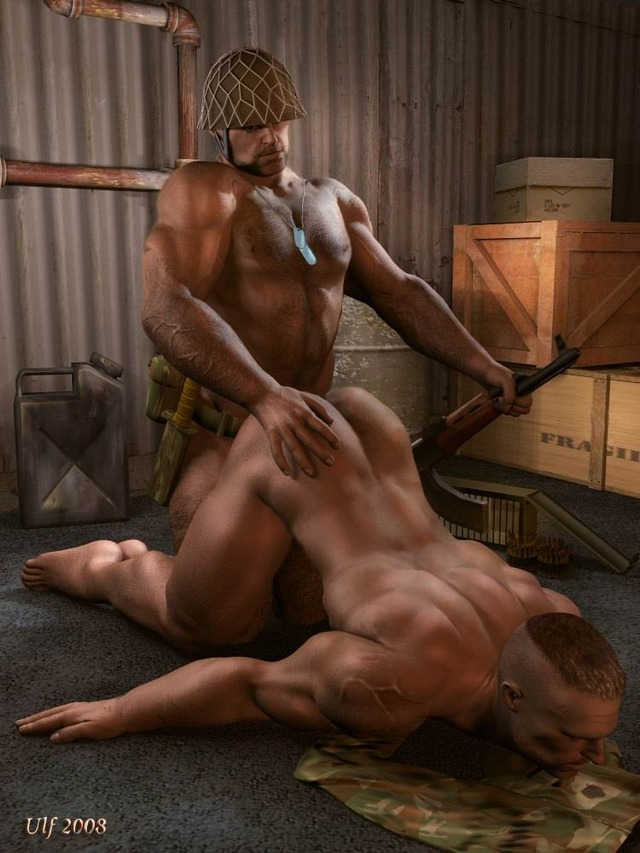 3 d gay sex porn gay this soldiers totally merciless