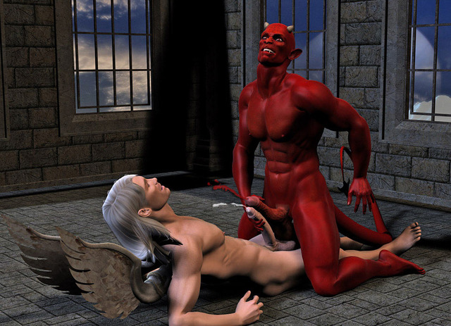 3d cartoon gay porn all angel out going devil