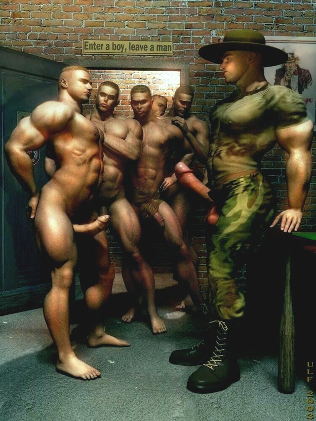 3d gay porn gallery gay pics army naughty their gays officer lewd