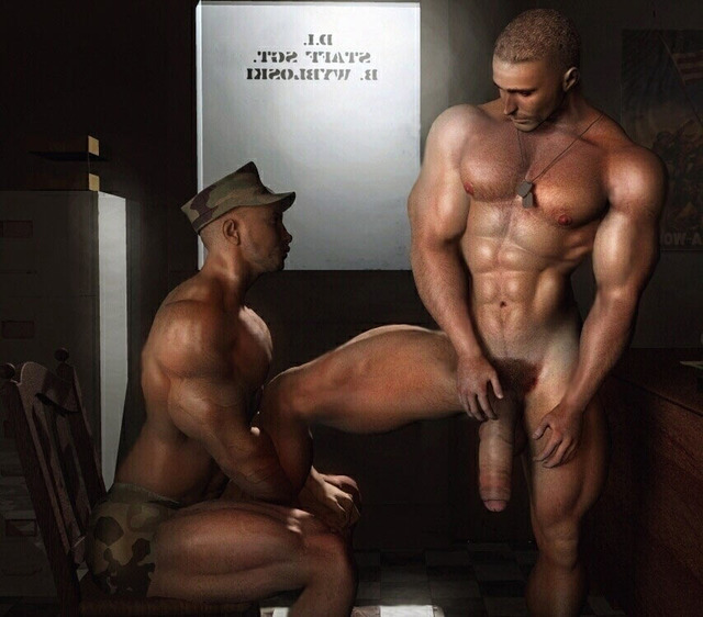 3d gay porn pics huge gay army cocks sexy gays drawings