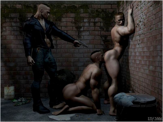 3d gay sex gay brutal forced dude