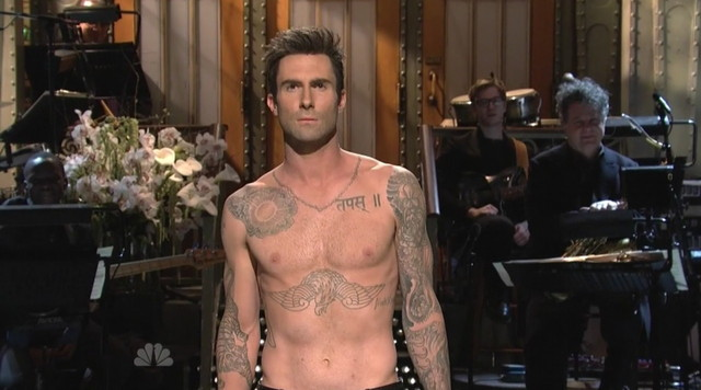 adam levine gay porn adam live shirtless levine saturday night snl