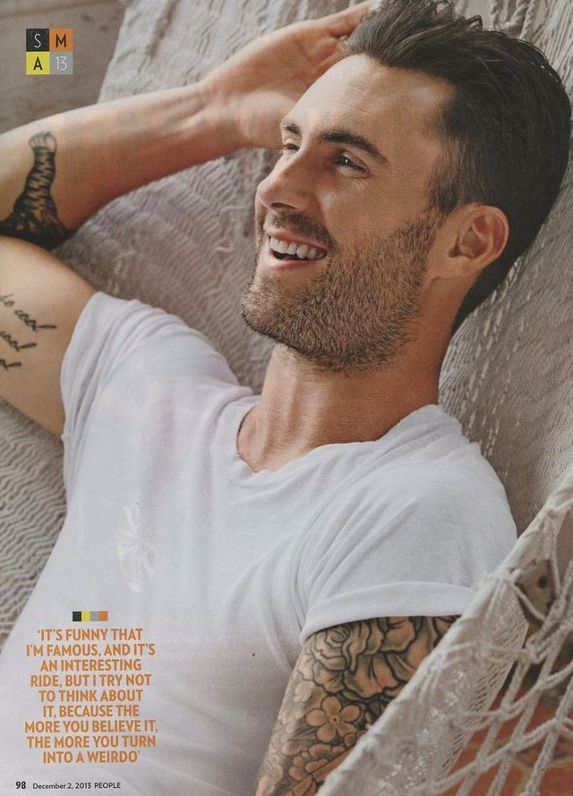 adam levine gay porn page magazine people boy culture ecbda